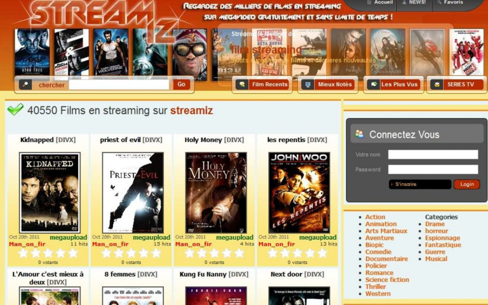 Streamiz : le verdict pour le site de streaming