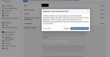 supprimer compte facebook completement