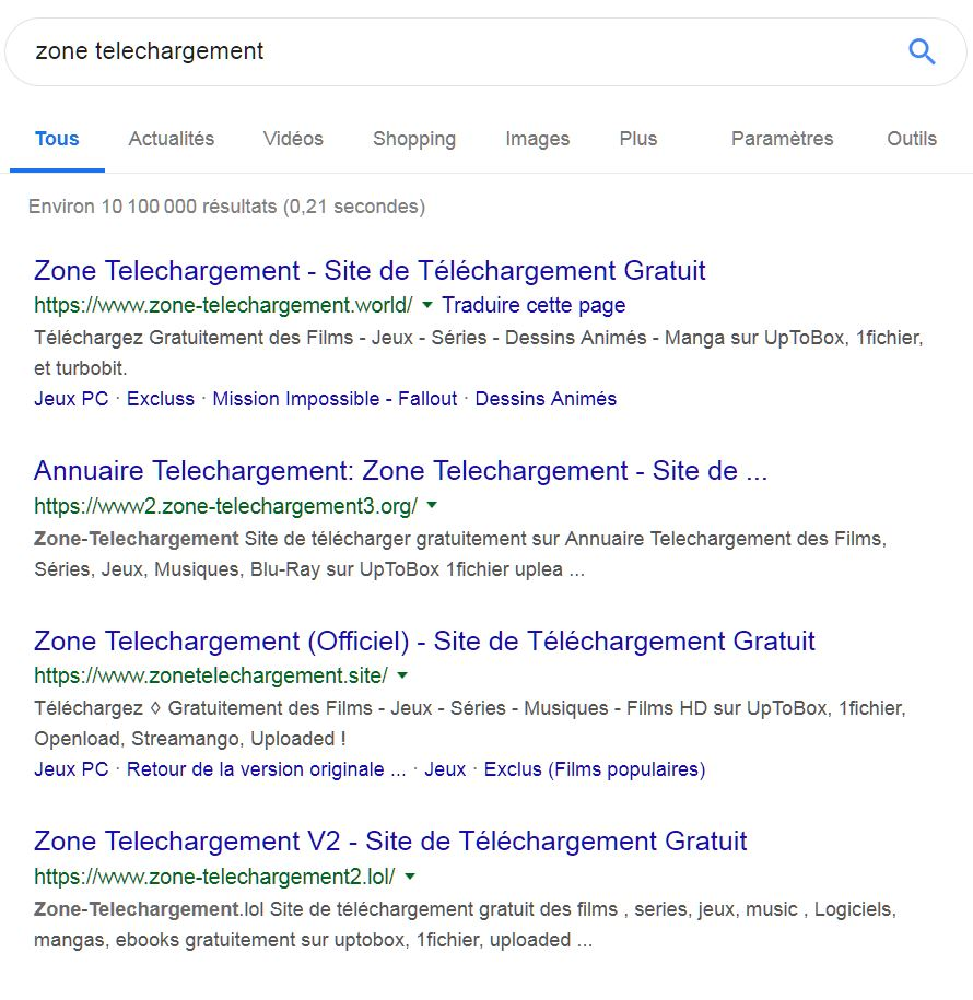 serp zone telechargement