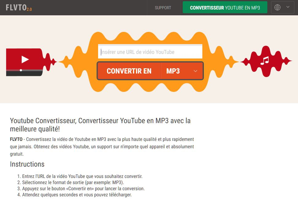 convertisseur youtube mp3 application android