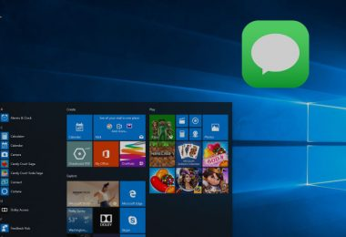 iMessage sur un PC Windows