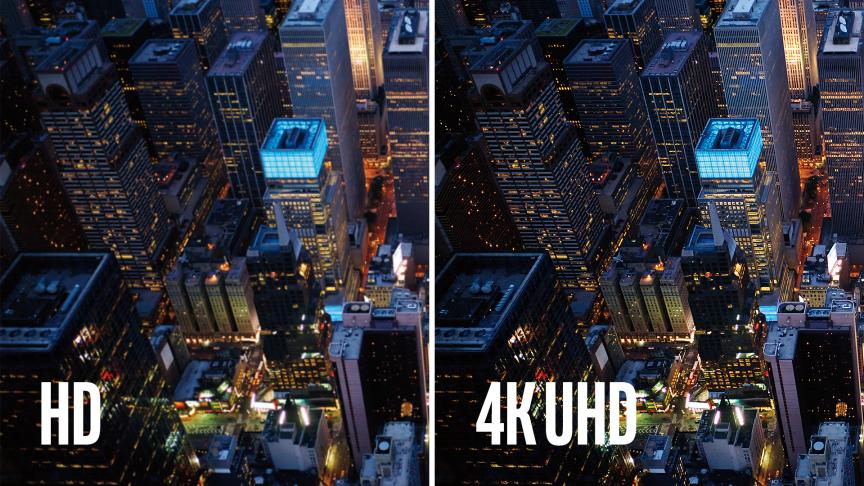 diffrence hd 4k