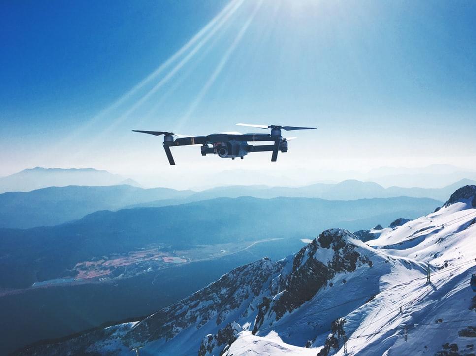 des drones pour sauver des personnes des avalanches