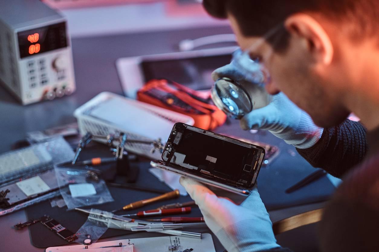 reparer smartphone cassé