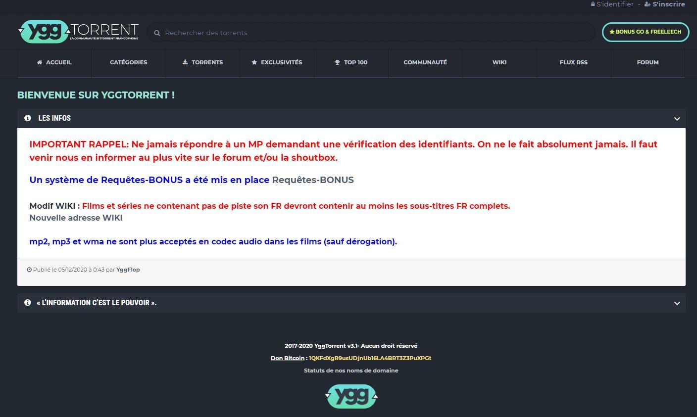 site de torrent yggtorrent