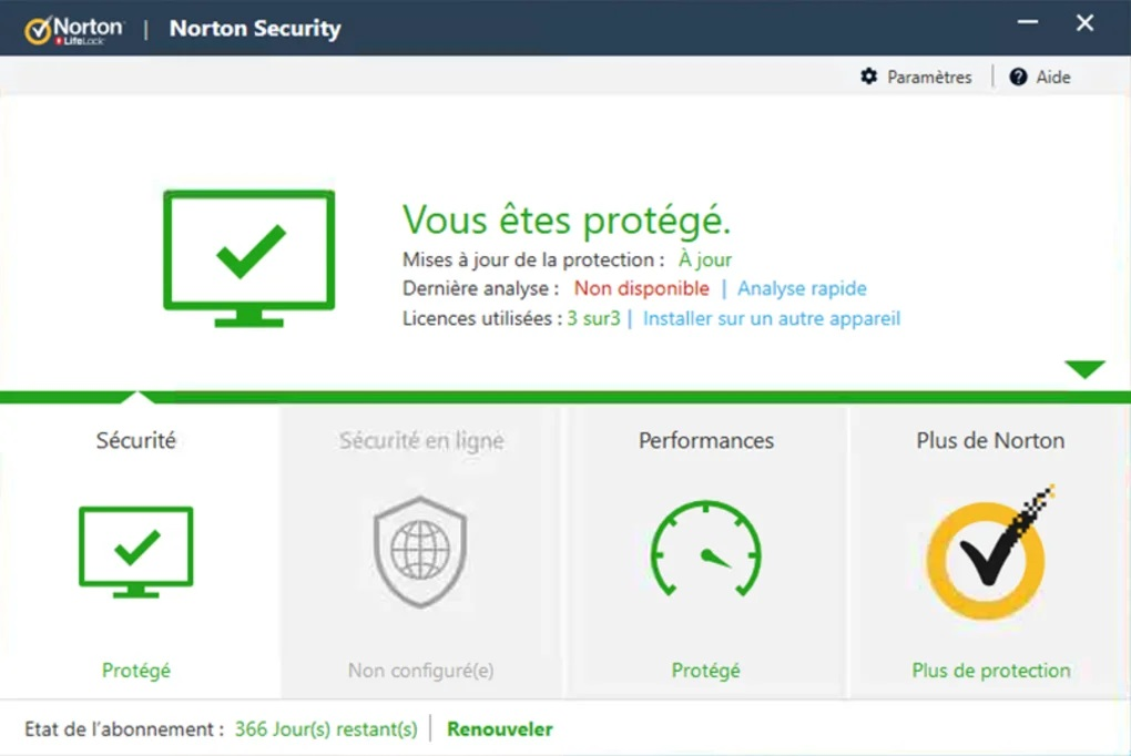 Norton antivirus payant